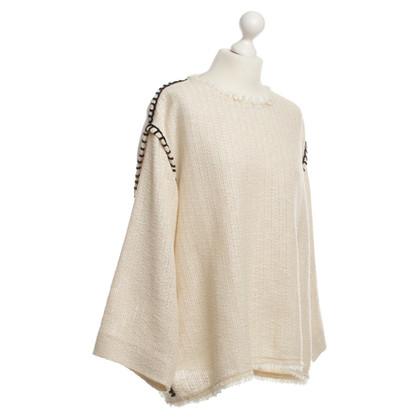 Isabel Marant Cotton sweater in cream