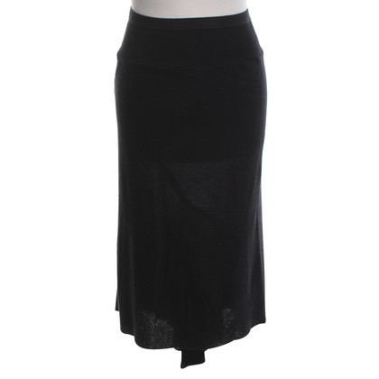 Rick Owens Knitted skirt in black