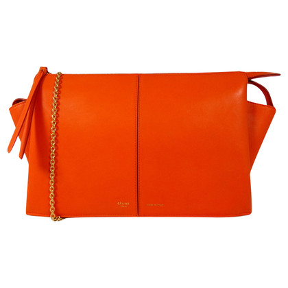 "Céline ""Tri Fold Clutch On Chain"""