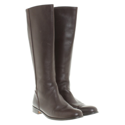 Aigner Brown leather boots