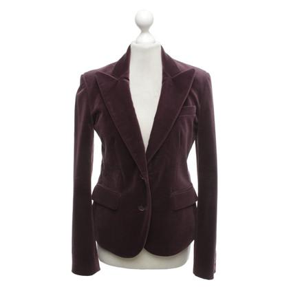 Etro Velvet blazer in purple