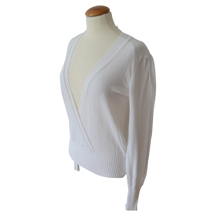 Vanessa Bruno Cache Coeur white sweater