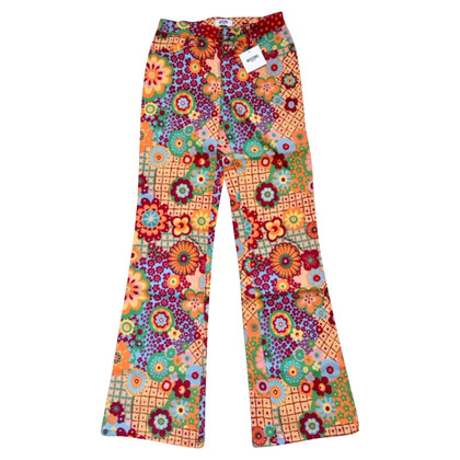Moschino Moschino Jeans flower trousers