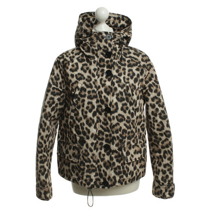 Michael Kors Giacca con stampa leopardo