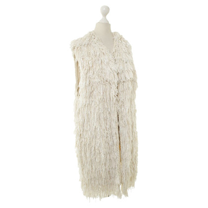 Isabel Marant Fringe vest in cream