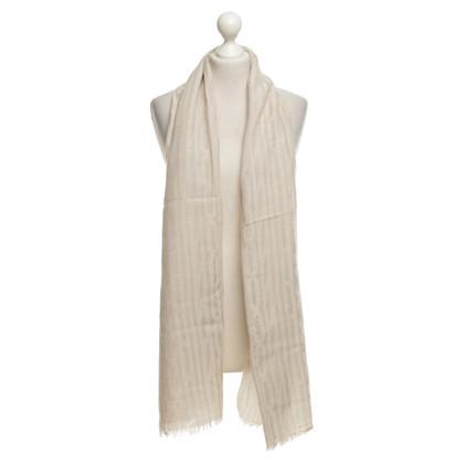 Moschino panno di lana beige