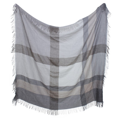 Laurèl Sjaal in beige / grijs