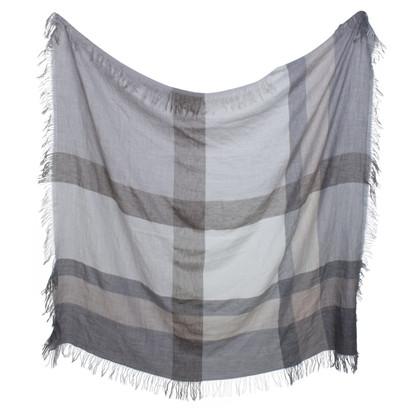 Laurèl Foulard in beige / grigio
