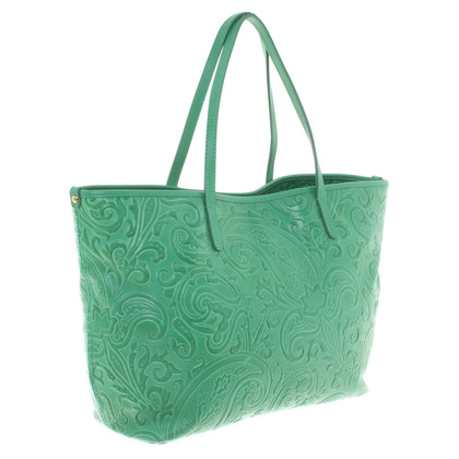 Etro Shoppers in green
