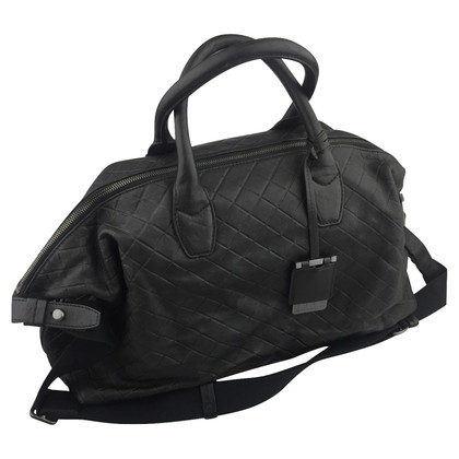 Hugo Boss Hugo Boss Black Travel Leren tas