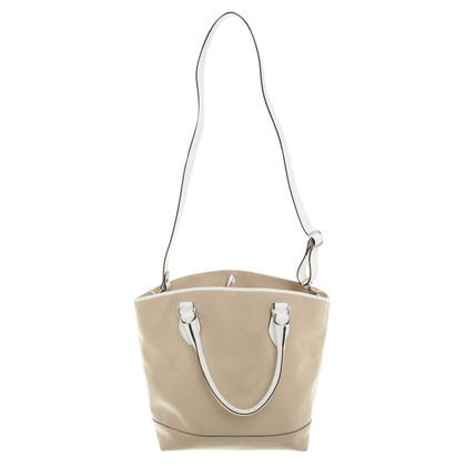 St. Emile Leather handbag in beige