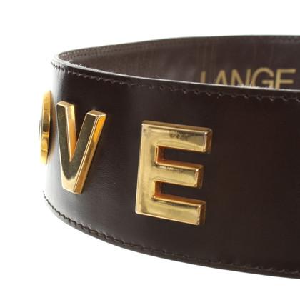 Rena Lange Applicazione Belt