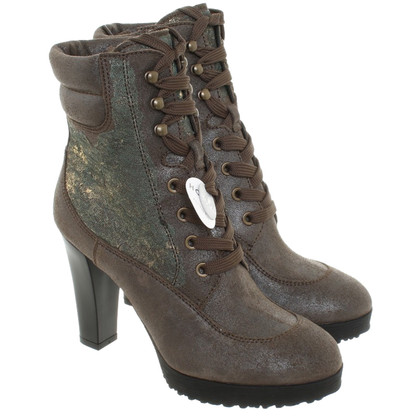 Hogan Ankle boots with lace detail