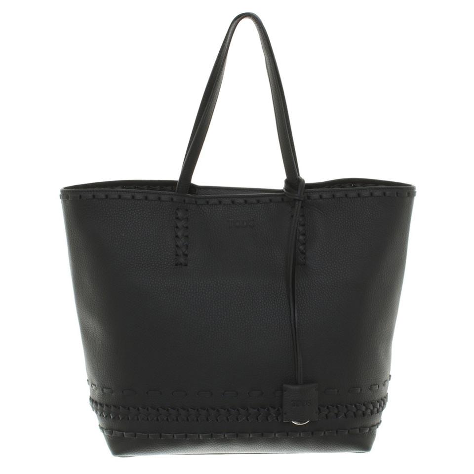 tod 39 s handtasche in schwarz second hand tod 39 s handtasche in schwarz gebraucht kaufen f r 750. Black Bedroom Furniture Sets. Home Design Ideas