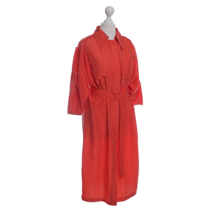 Halston Heritage Robe en soie orange