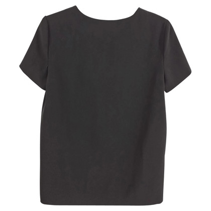 Moschino Cheap and Chic top con dettagli in osso
