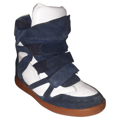 Isabel Marant Sneakers in Blauw / Wit