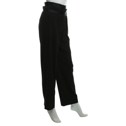 Armani Wide pants with Grosgrain ribbons