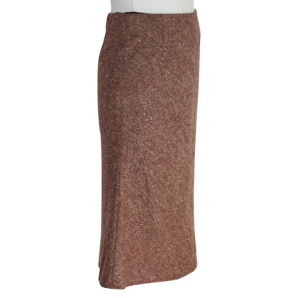 Burberry Burberry London gored brown skirt
