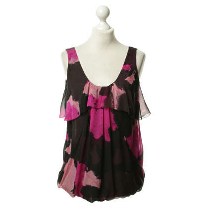 Diane von Furstenberg Silk top with print