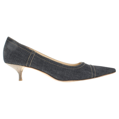 Miu Miu pumps in blu