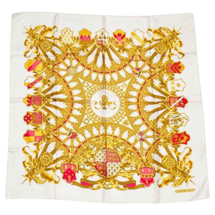 """Hermès Silk scarf """"British Heraldry"""""""