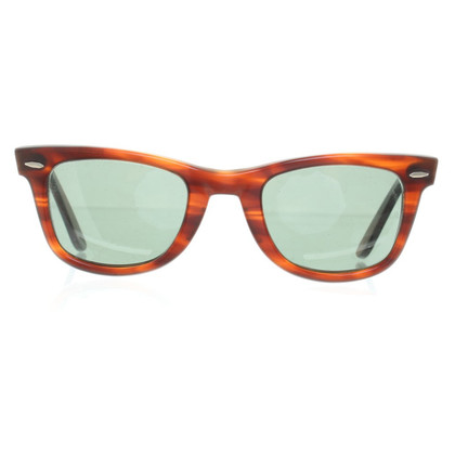 Ray Ban '' Wayfarer '' in brown