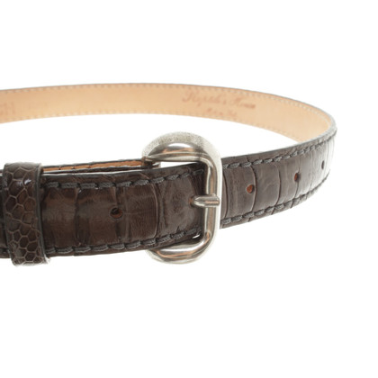 Reptile's House Belt in Taupe