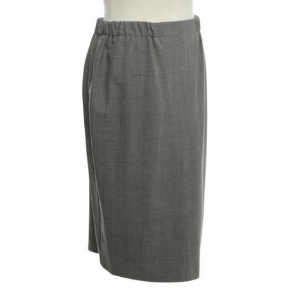 Marina Rinaldi skirt with glencheck pattern