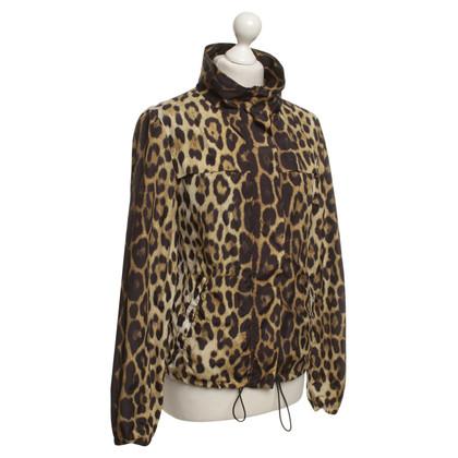 Moschino Jacke mit Leoparden-Muster