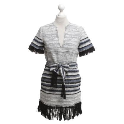 Derek Lam robe Stripe