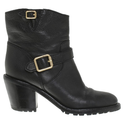 Marc Jacobs Ankle Boots in zwart