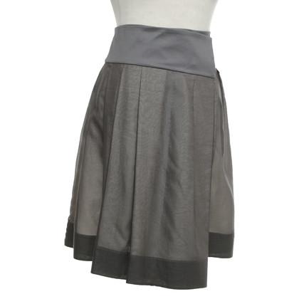 Céline Wrap skirt in grey