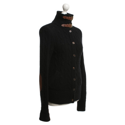 Ralph Lauren Cardigan with leather straps