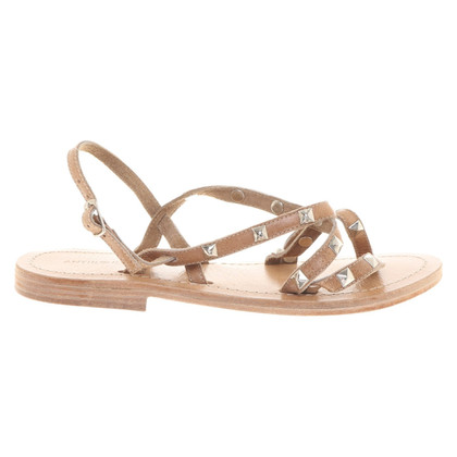 Antik Batik Sandals in beige
