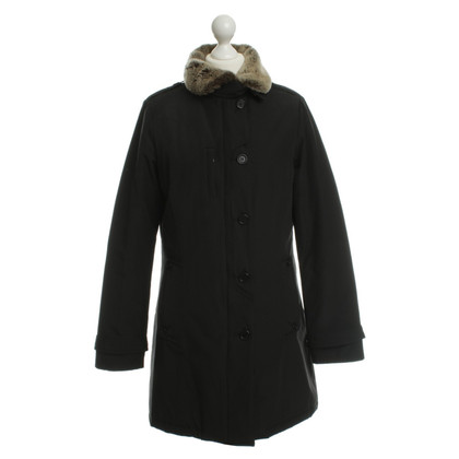 Woolrich Coat in black