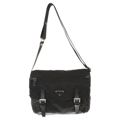 Prada Messenger bag in black