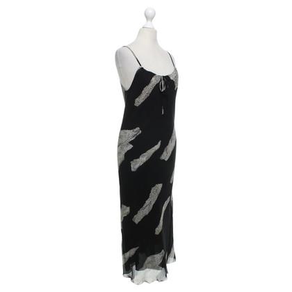 Andere merken Luisa Spagnoli - jurk met reptielenprint