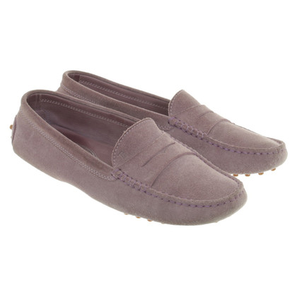 Tod's Mocassins in Lila