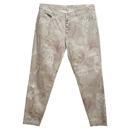 Bogner Pants with a floral pattern