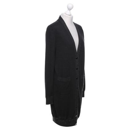 Hermès Strickjacke in Grau
