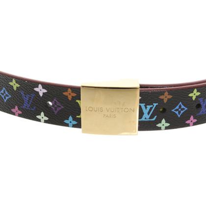 Louis Vuitton riem vanaf Monogram Multicolore Canvas