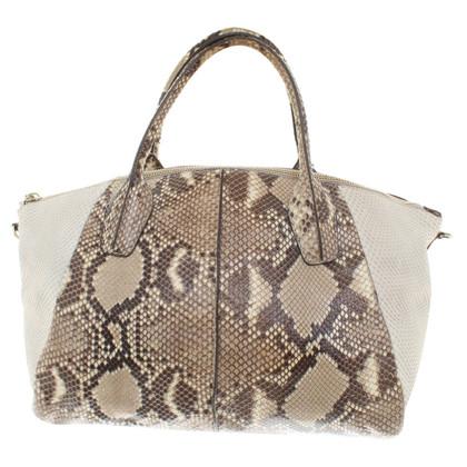 Tod's Handbag made of phyton leather