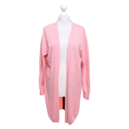 Camouflage Couture Pink knit coat