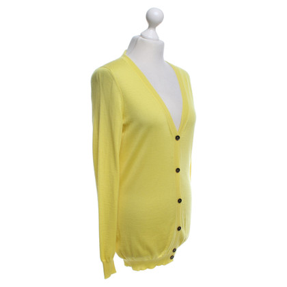 Gucci Cashmere cardigan in yellow