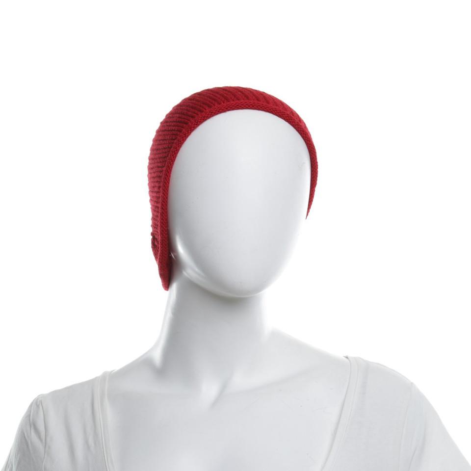 Borsalino Mütze in Rot