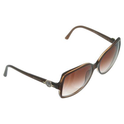 Bulgari Braune Sonnenbrille
