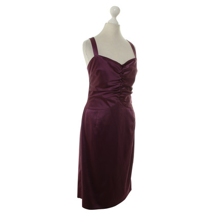John Galliano Kleid in Fuchsia