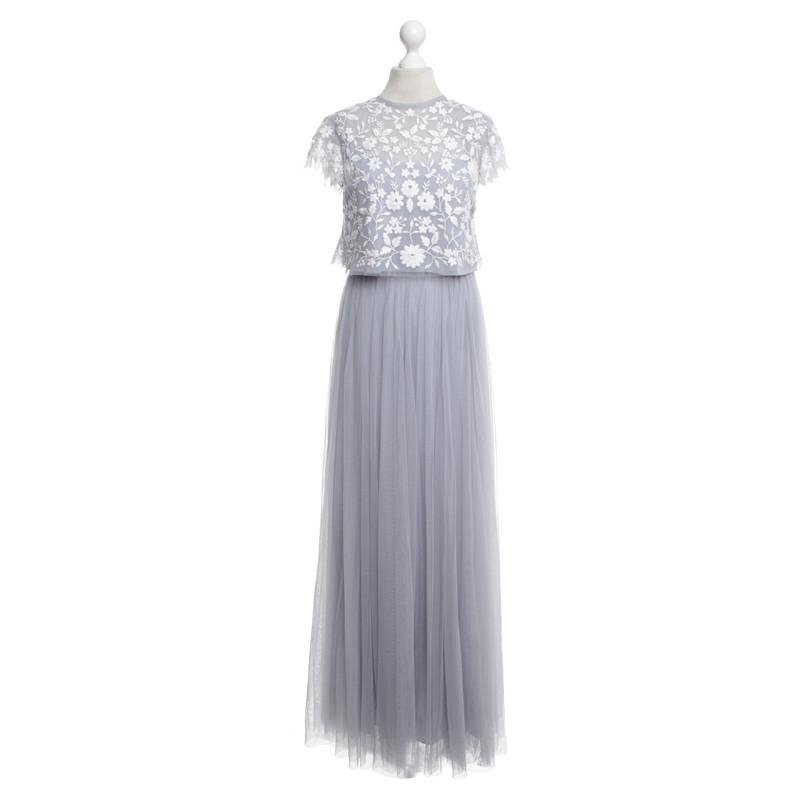 Kleid flieder 128