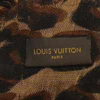 Louis Vuitton Schal mit Animal-Print